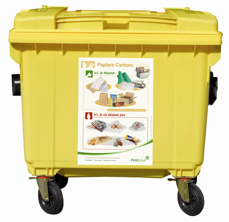 Triez les déchets à l'école !